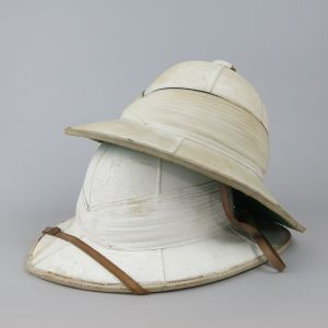 Pith helmets (white)