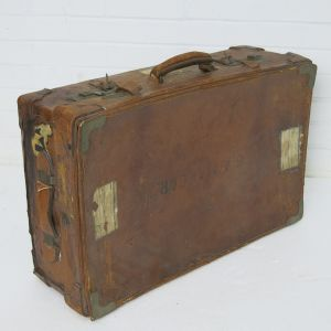 Leather suitcase 1