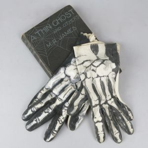 Skeletal gloves