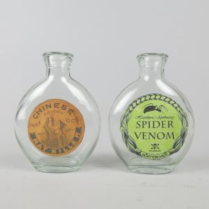 Small round bottles x 2