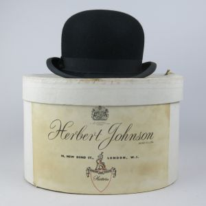 Bowler hat with box